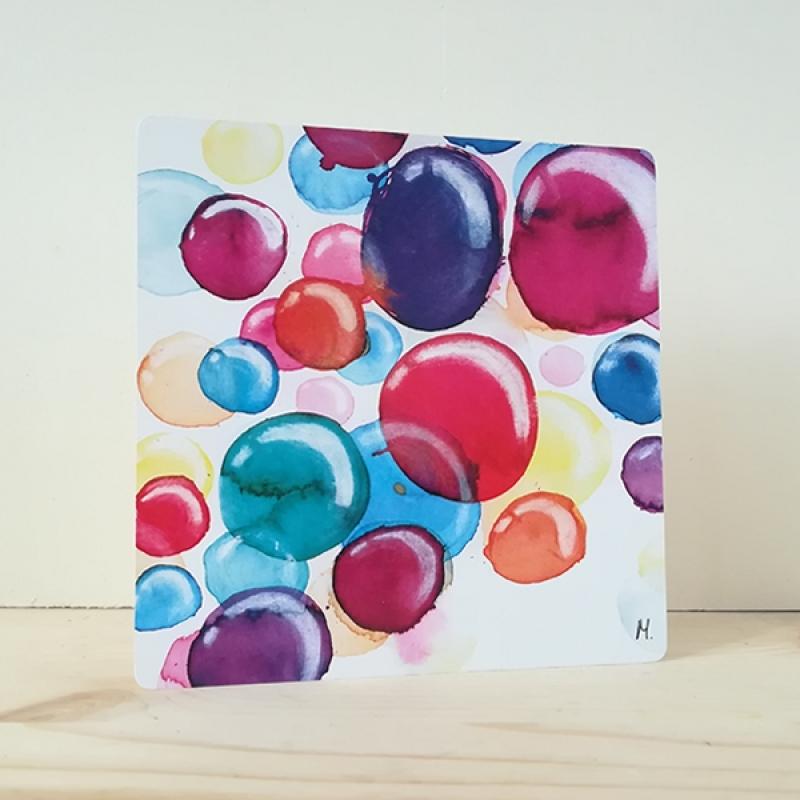 card bubbles