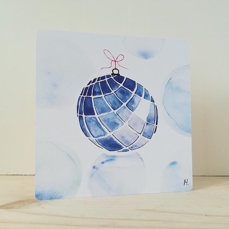 card christmasball