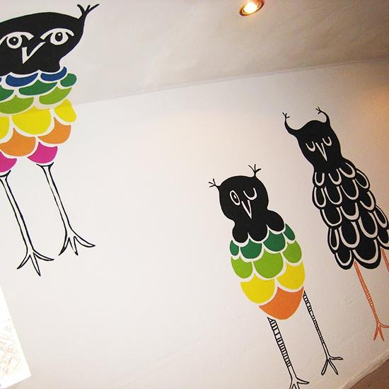 MURAL OWLS